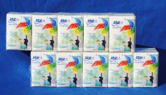 手帕纸|碧柔卫生用品|价格