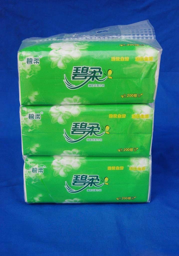 软抽纸-保定市满城碧柔卫生用品有限公司